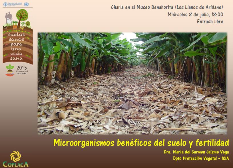 Formación: Microorganismos benéficos del suelo y Fertilidad