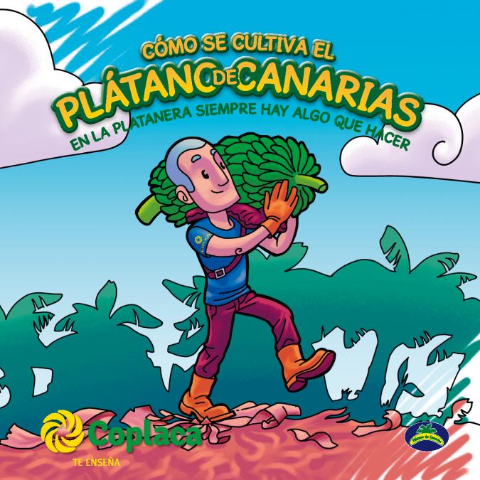 Revista coloreable: Cómo se cultiva el Plátano de Canarias