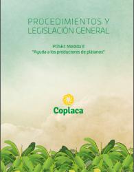 Nueva publicación de COPLACA: Procedimientos legislación POSEI