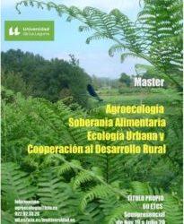 ULL: Máster Propio en Agroecología, Soberanía Alimentaria, Ecología Urbana y Cooperación al Desarrollo Rural